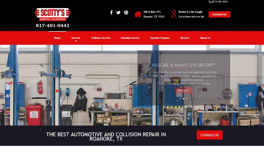 Scotty's Automotive and Collision in Roanoke, Texas