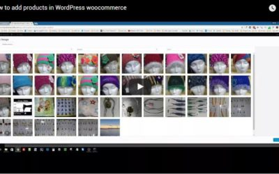 How to add products in WordPress woocommerce