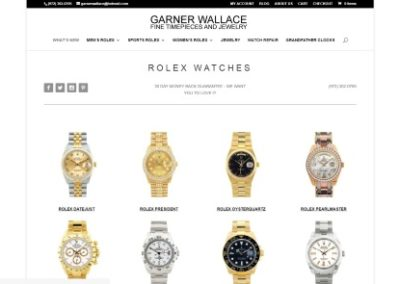 Garner Wallace Fine Timepieces and Jewery